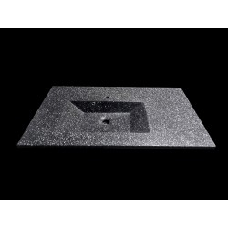 Lavoar Lava 100x60 Glass Dark Grey